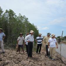 Khảo sát hợp tác tại Vĩnh Châu, Sóc Trăng